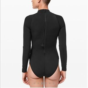 Lululemon Will The Wave Long Sleeve Swimsuit